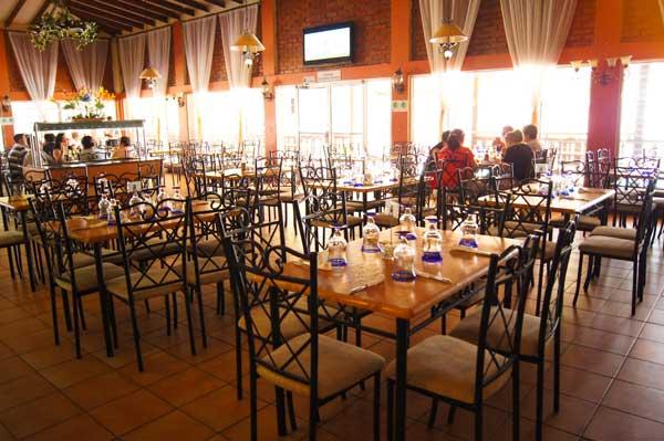 Restaurante Pacas Hotel Las Glorias